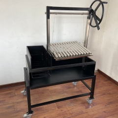 Power Coating Argentine Parrilla BBQ Barbecue Grill