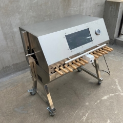 Electric Cyprus BBQ Spit roast rotisserie automatic barbecue grill